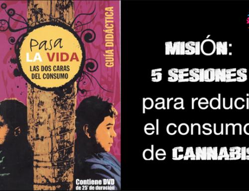 Misión: 5 sesiones para reducir el consumo de cannabis
