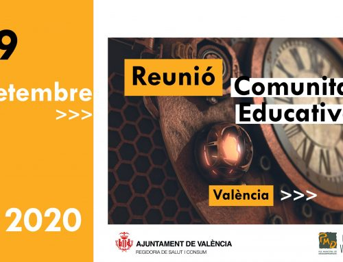 Reunión Informativa PMD/UPCCA-València con la comunidad educativa: 29 septiembre 2020