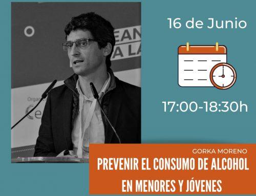 """Webinar: """"Prevenir el consumo de alcohol en menores y jóvenes"""""""