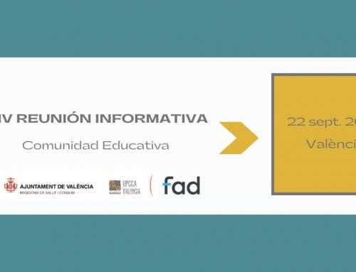 REUNIÓN INFORMATIVA DOCENTES/AMPAS 22 SEPT. 2021