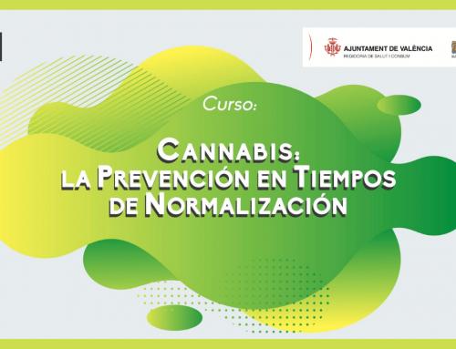 """Curso Online: """"Cannabis: la prevención en tiempos de normalización"""""""